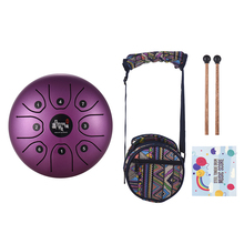 5,5 дюймов язык барабан камер Мгновенной Печати Mini 8 тон Сталь язык барабан C Ключ ручной сковорода барабан звук игрушечный музыкальный инструмент подарок для детей младшего возраста/игрушки