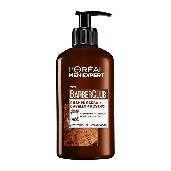 Beard Shampoo Men Expert Barber Club L'Oreal Make Up (200 Ml)