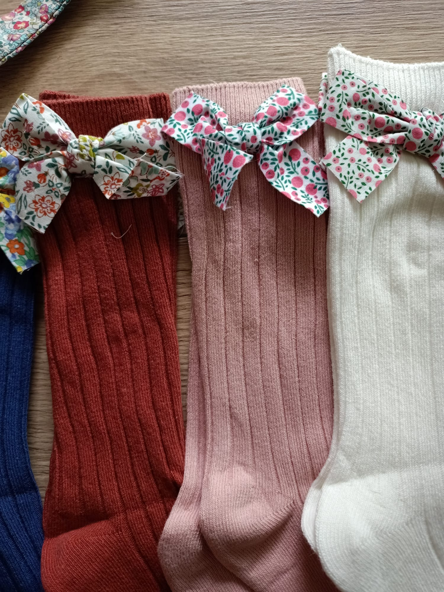 0-5 Years Toddlers Girls Socks Flower Bows Knee High Long Soft Cotton Baby Socks Stripped Children Socks Princess Style photo review