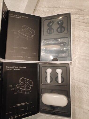 Casque d'écoute sans fil TOMKAS Mini TWS Bluetooth casque de Sport à commande tactile