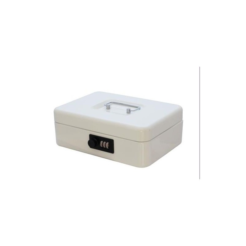 BOX FLOW COMBINATION LOCK WHITE 25X18X9CM
