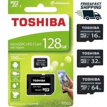 Toshiba – Microsdxc, 128 go, 64 go, 32 go, 16 go, 100 mo/Sn, Original™Appareil étanche pour téléphone et ordinateur, classe 10, carte SD