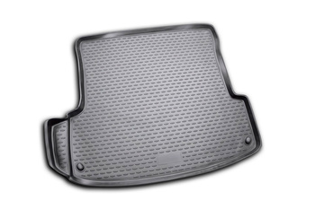 Trunk car mat for Skoda Octavia Tour 1996~ hatchback car interior protection floor from dirt guard car styling image