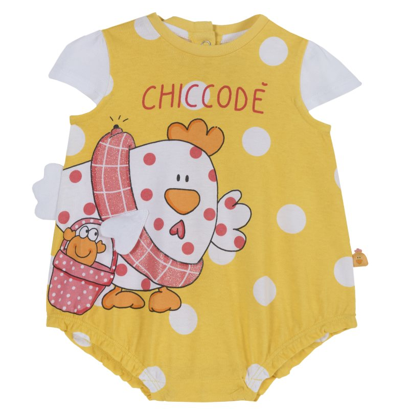 Bodysuit Chicco Size 074 Color Chicken (yellow)