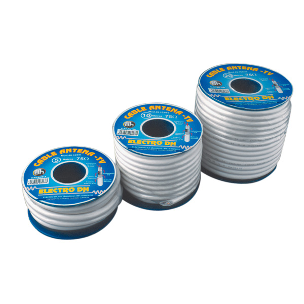 Pack 100 MTS TV Aerial Coaxial Cable 75 Ω 49.105 8430552031863