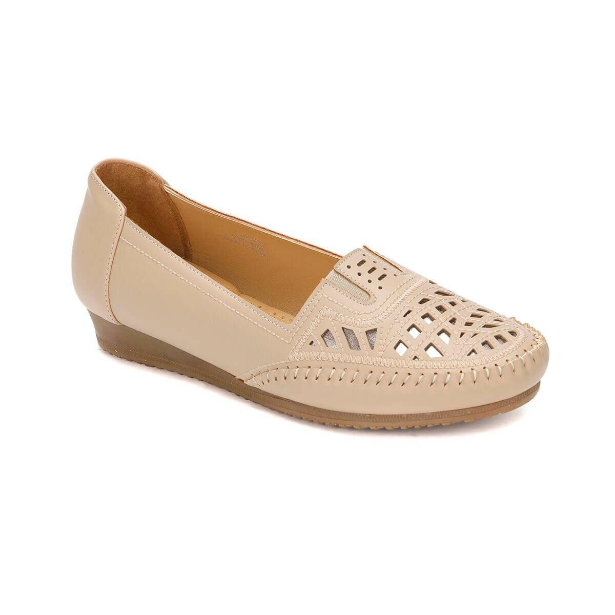 FLO 81.158752.Z Beige Women 'S Classic Shoes Polaris