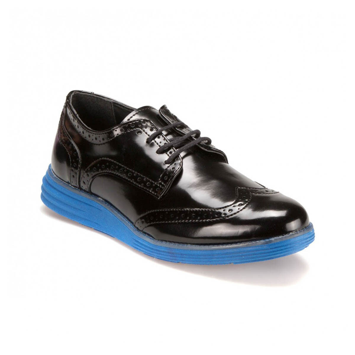 FLO 61123-1 M 6693 Black Men 'S Classic Shoes-Styles
