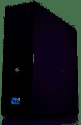 מחשב משופץ DELL 780 SFF שולחן העבודה E8400 / 4GB / 250 GB / DVD / WS7 COA/אחריות 6 חודשים