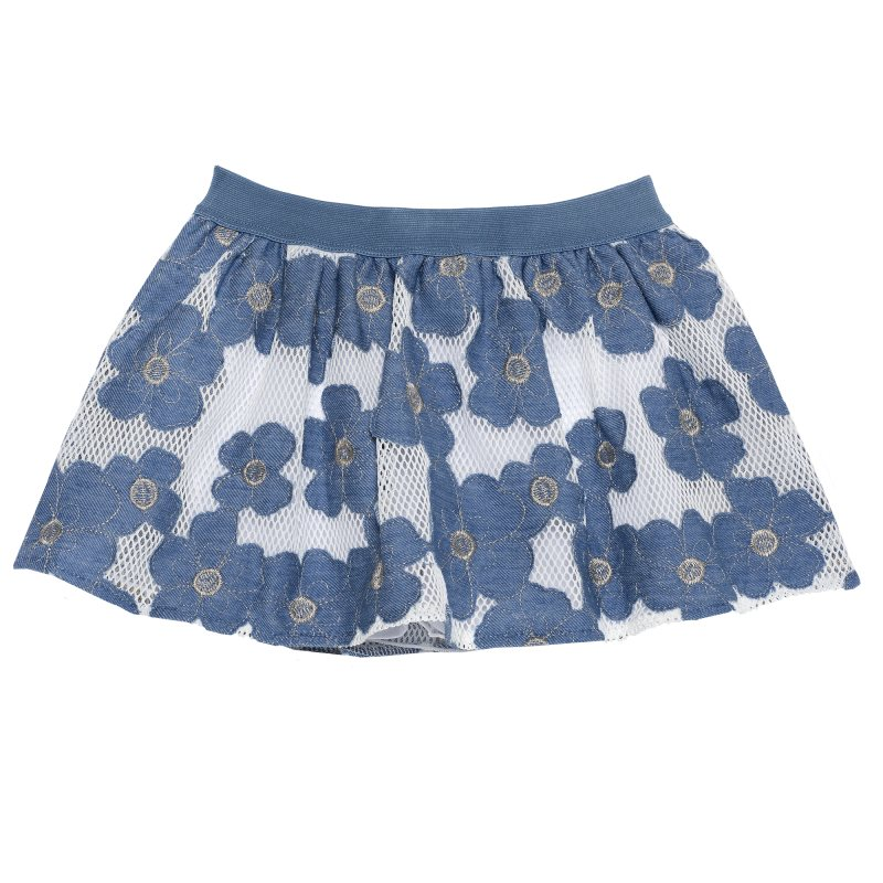 Фото - Skirt Chicco, size 098, color blue color block skirt