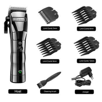 Men Electric Hair Clipper Hair Trimmer Rechargeable Hair Cutting Beard Shaving Machine Barber Razor Shaver KM-2850 Hair Cutter kemei electric shaver for men rechargeable face razor professional beard trimmer waterproof hair cutter hair shaving machine