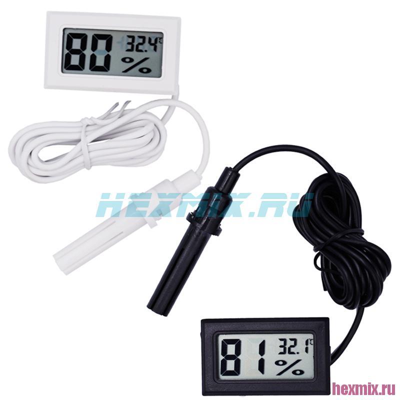 Temperature And Humidity Meter Mini With Remote Sensor