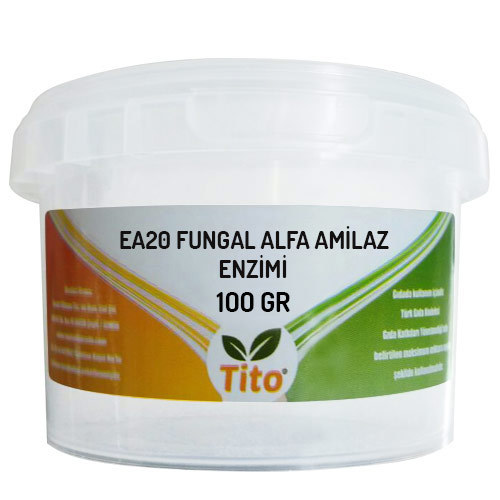 Tito EA20 Fungal Alpha Amylase Enzyme 100 G