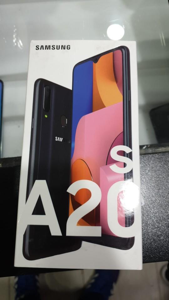 Samsung Galaxy A20s, teléfono móvil original, Smartphone  3GB+32GB, pantalla infinit-V, triple cámara 13MP, 1.8GH, 4000mAh