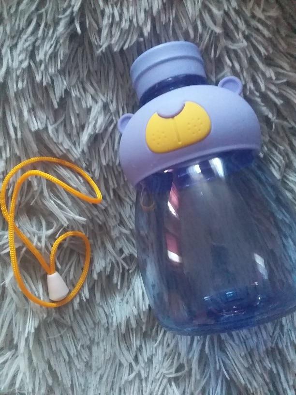 540ml Children Water Bottle Sport Drink Bottles of Juice Bottle Portable Handgrip Cartoon Space bottle With Rope|Water Bottles| |  - AliExpress