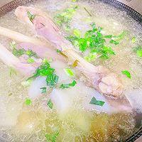 """#美食说出""""新年好""""#羊腿罗卜煲汤的做法图解11"""