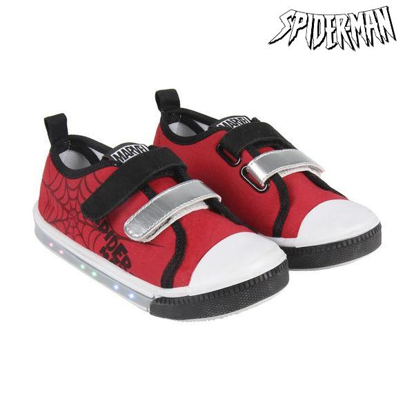Casual Shoes with LEDs Spiderman 73626 Red|  - title=