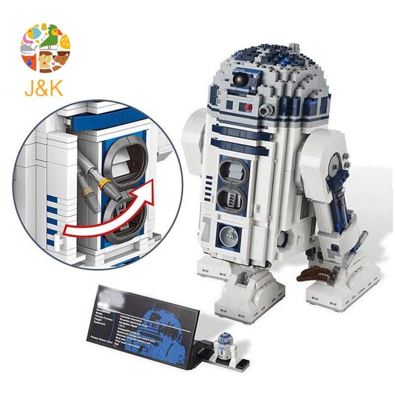 Star Series Wars 10225 le R2 Robot Set D2 hors impression blocs de construction briques Toyswars anniversaire cadeaux de noël