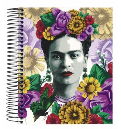 NOTEPAD A6 120 SHEETS FRIDA KAHLO