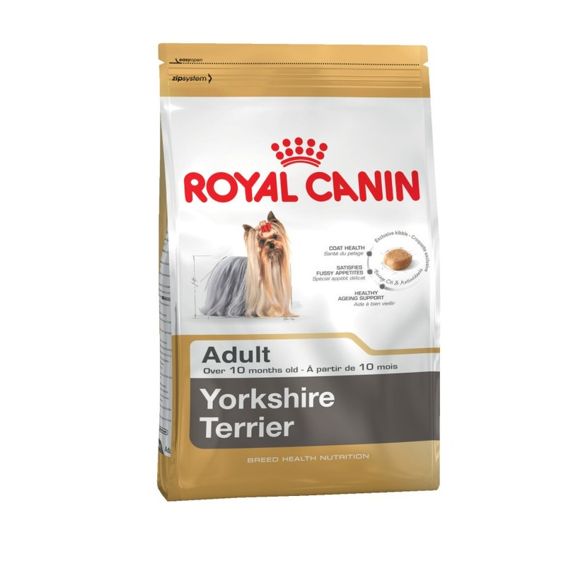 Royal Canin Yorkshire Terrier Adult для собак породы йоркширский терьер, 1,5 кг