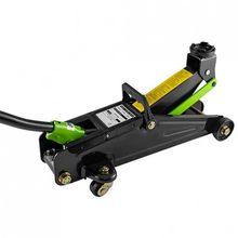 Cric hydraulique de voiture de 2 tonnes, chat approuvé par TÜV de brouette, chat avec des roues