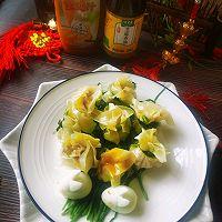 #太太乐鲜鸡汁芝麻香油#鸡汁兰花的做法图解15