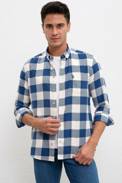 U.S. POLO ASSN. Square Regular Shirt
