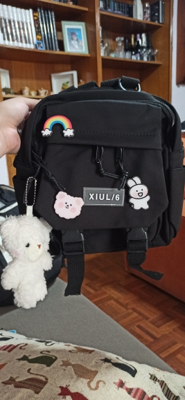 Soft girl small cute Backpack photo review