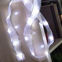 Organza girlanda LED (15 diod LED) na