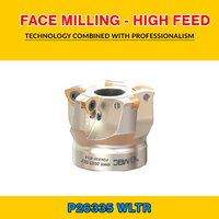 TK P26335 004 WLTR FACE MILLING - HIGH FEED BMR 52X3 022 P26335R-25