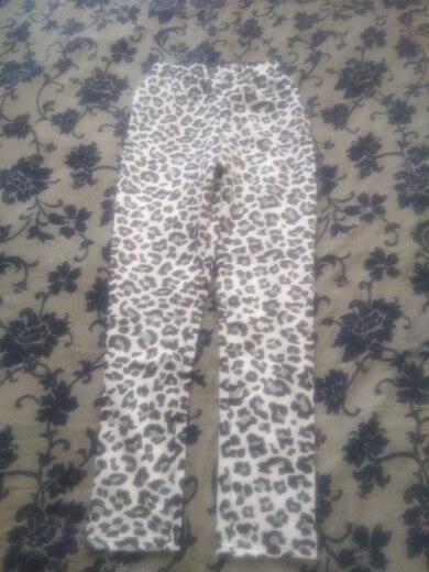 Echoine Leopard print Women suit Autumn Long Sleeve Jacket Ladies Blazer Set OL pant suits for women Club Outfits costume femme reviews №4 75487