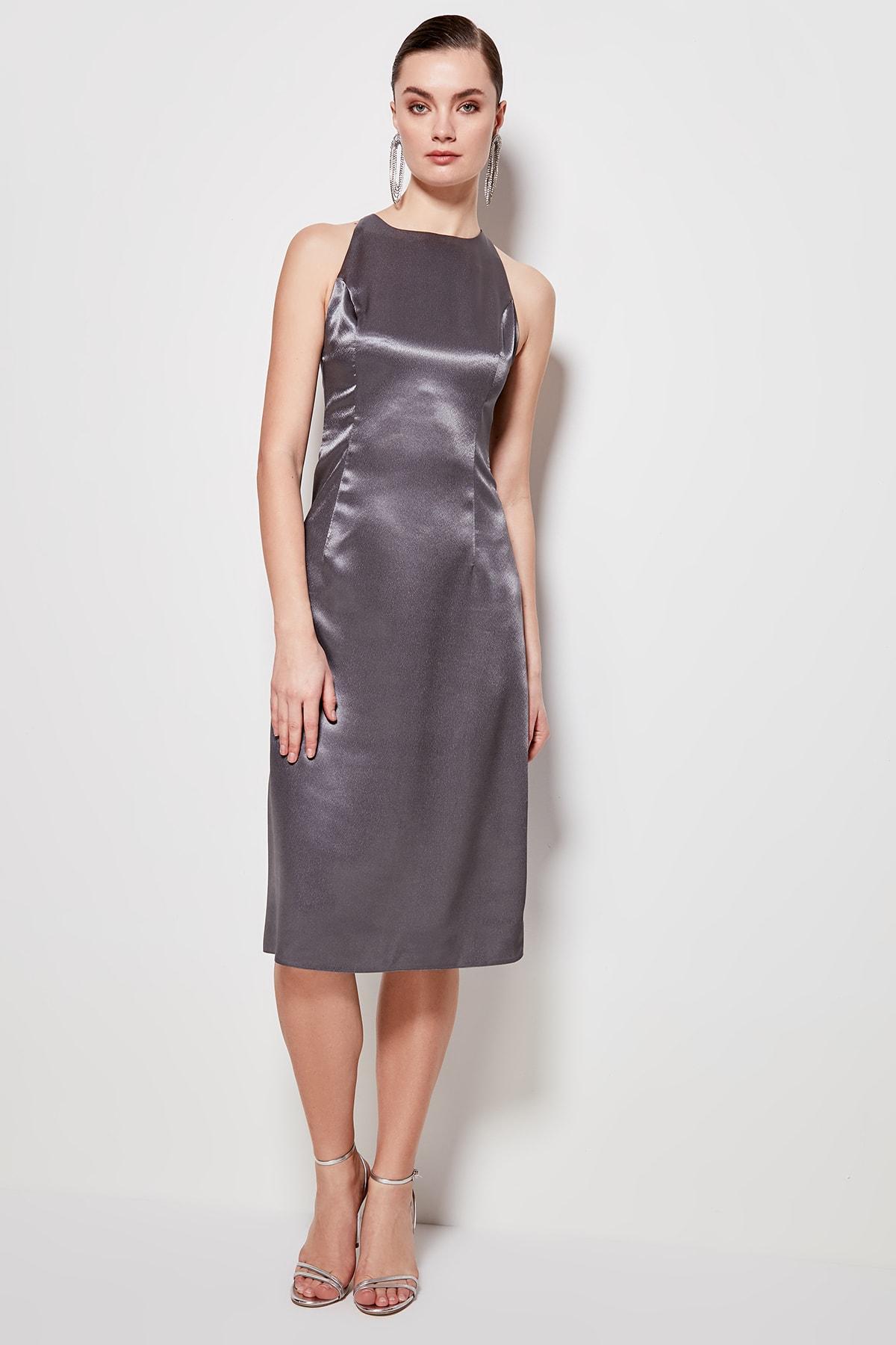 Trendyol Back Detail Dress TPRSS20EL0217