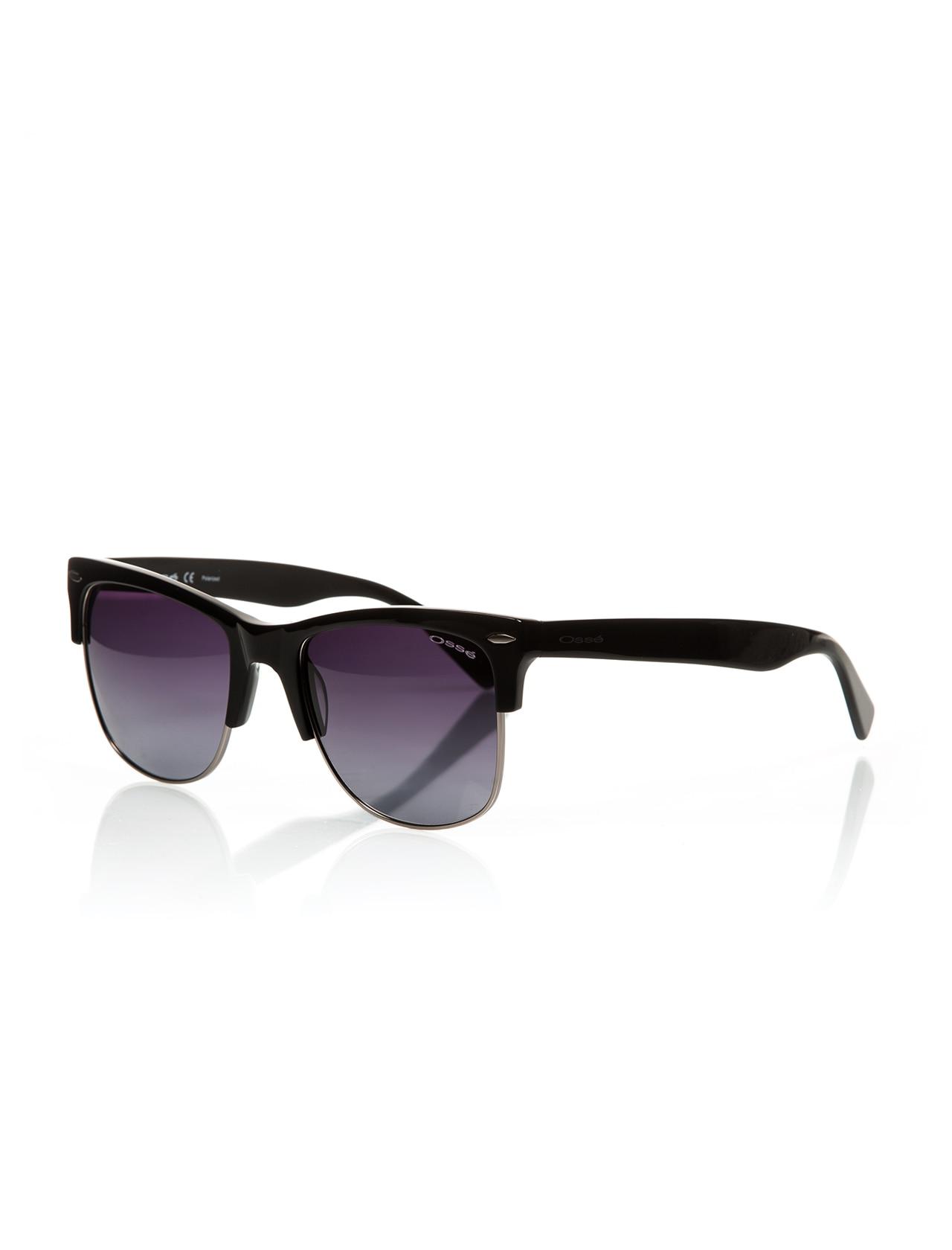 Unisex sunglasses os 2148 04 clubmaster black organic square square 55-21-143 osse