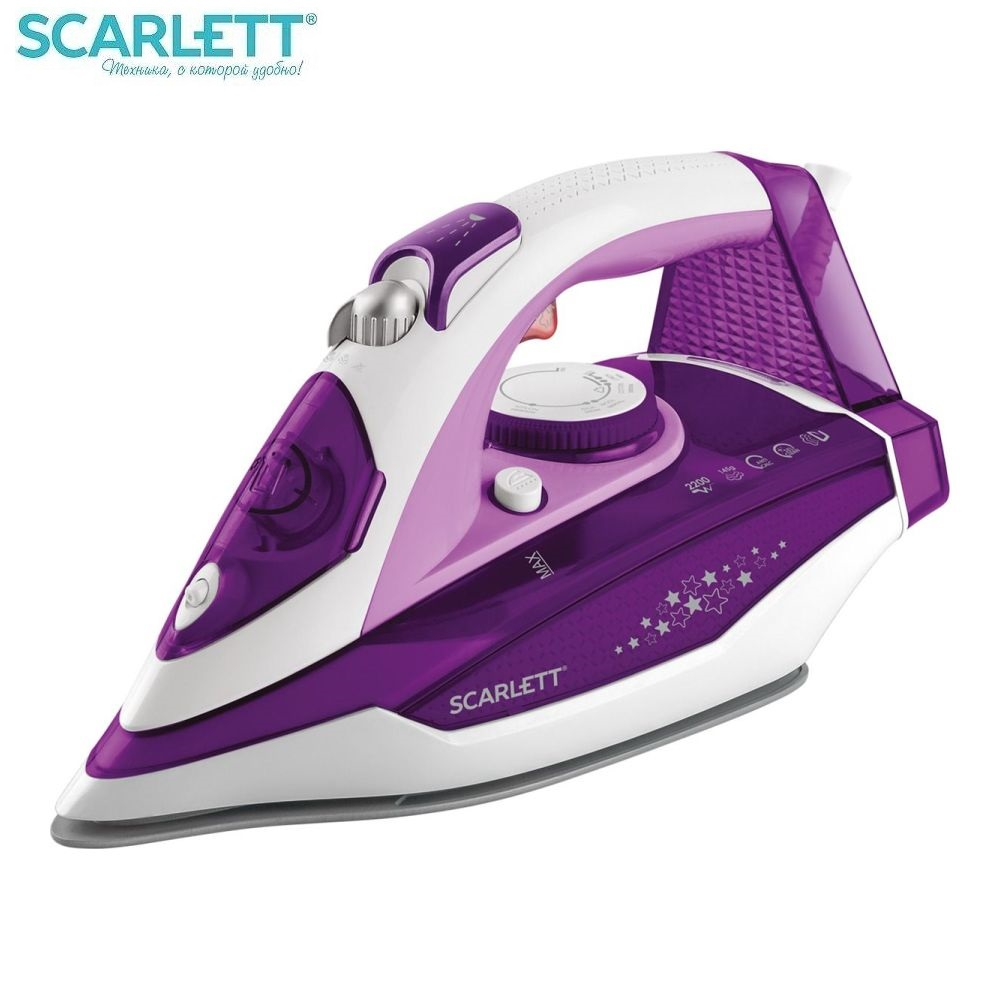 Iron Scarlett SC-SI30K34 Iron for ironing Mini iron steam iron Steam generator for clothing Irons Electric steamgenerator Small iron недорого