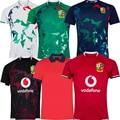 2021 Британский ирландские Львы регби дома футболки-поло прогрева Графический рубашка Ирландия мужские игроков тренировочные спортивные то...