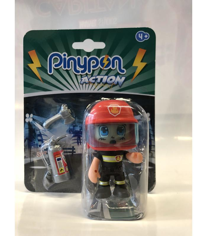Figure Pinypon Action Firefighter Rescue Toy Store Articles Created Handbook