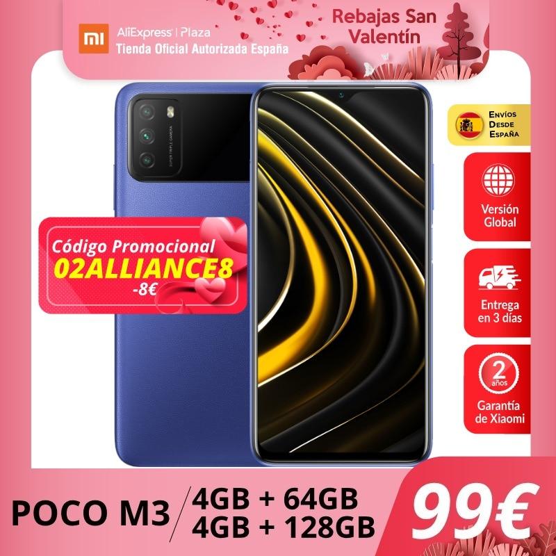 ¡WOW!Pocophone POCO M3 64 Gb. por 115,5 euros (-30% desc.)