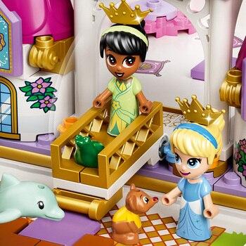 Конструктор LEGO Disney Princess Книга сказочных приключений Ариэль, Белль, Золушки и Тианы 5