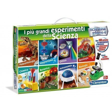 Clementoni Science And Game Experiments More Amazing Science