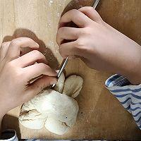 """小朋友都能上手的""""胖""""兔馒头的做法图解4"""