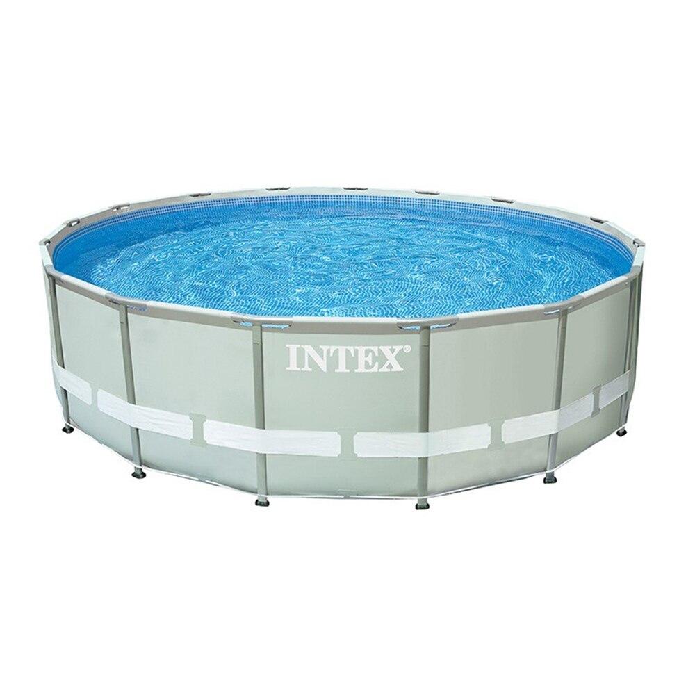 Intex Pool Scaffold, 457 х107 Cm, Built-in Filter Pump