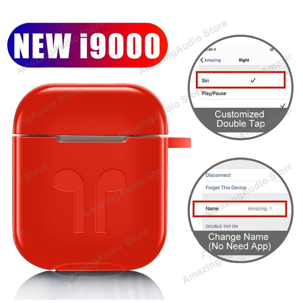 Nouveau i9000 TWS Changement Nom Écouteur Sans Fil Aire2 Bluetooth 5.0 Écouteurs PK i7s i9s i10 i12 i200 i500 i90000 pro i100000 TWS