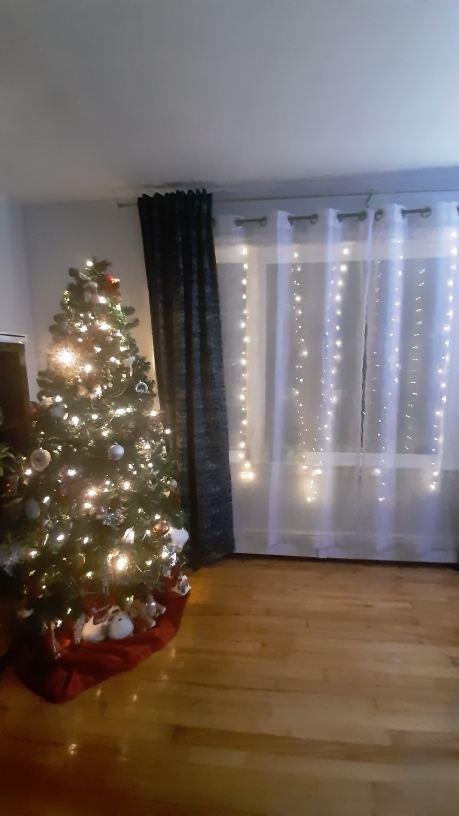 LED USB Curtain String Lights with Remote Control photo review