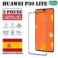 Huawei P30 lite 3 шт набор полное закаленное стекло Защита экрана Ультра тонкая защита от царапин