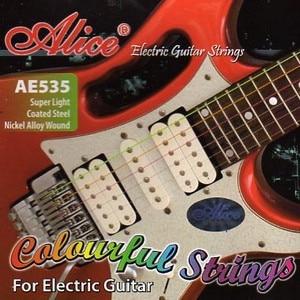 Ae535c String Kit For Electric Guitar, Nickel, 9-42 [12] Alice