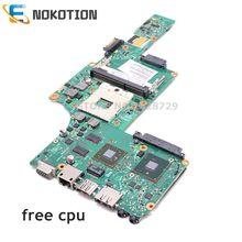 NOKOTION для ноутбука Toshiba satellite L630 материнская плата HD4500 HM55 DDR3 Бесплатный процессор 6050A2338501-MB-A03 V000245110 1310A2338522