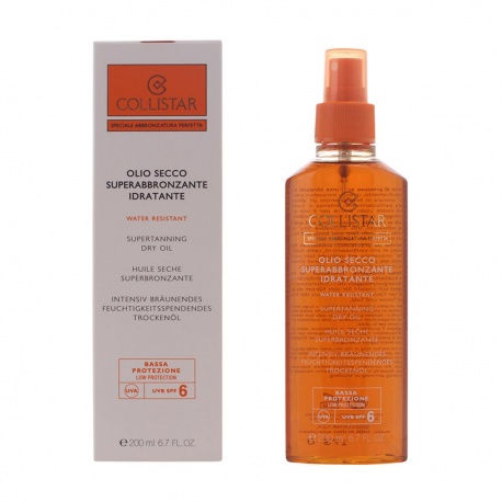 SPECIAL PERFECT TAN SUPERTANNING MOISTURIZER SECO OIL SPF6 200ML