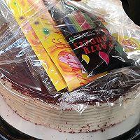山姆版 红丝绒蛋糕的做法图解2