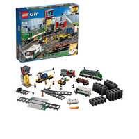 Projektant Lego city 60198 pociąg towarowy
