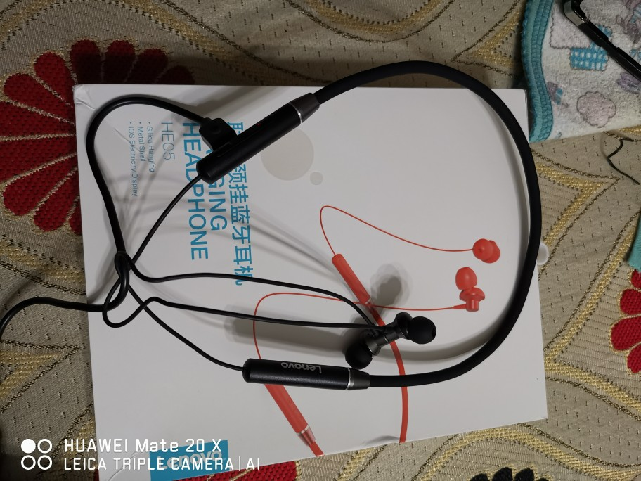 Lenovo HE05 Bluetooth 5.0 Earphone Wireless Stereo Sports Magnetic Headphones Sports Running IPX5 Waterproof Headset Bluetooth Earphones & Headphones    - AliExpress
