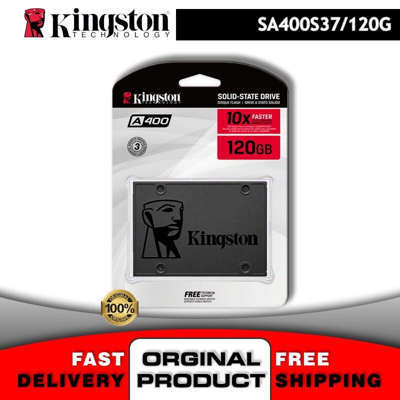 Твердотельный Накопитель SSD 120 Гб Kingston, игровой жесткий диск A400 S37 120 Гб 3D Nand Sata 3,0 2,5, жесткий диск для ПК, ноутбука, ProData